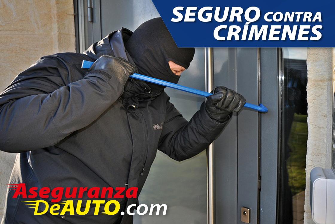 Seguro contra crímenes crime insurance