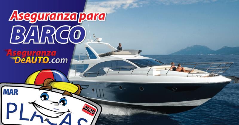 Aseguranza para Barco boat insurance