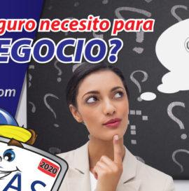 ¿qué seguro necesito para mi negocio? aseguranza de negocio seguro de negocio business insurance aseguranza de auto