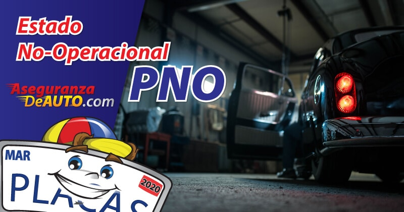 estado no-operacional non-op non-operational pno planned non operational dar de baja