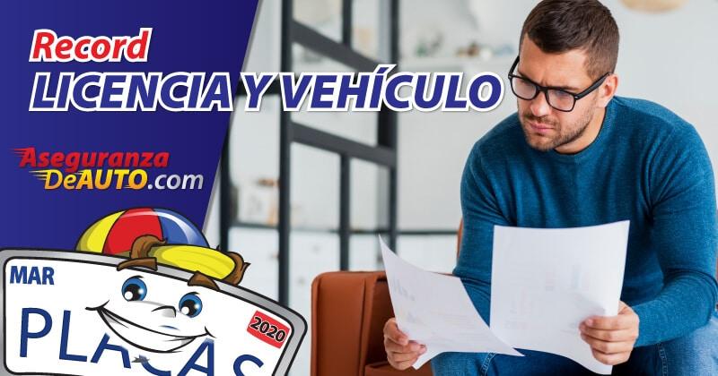 record de licencia record de vehiculo mvr motor vehicle record