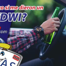 que es dui, dui por primera vez, dui en español, dui espanol, que es un dwi, aumento de aseguranza