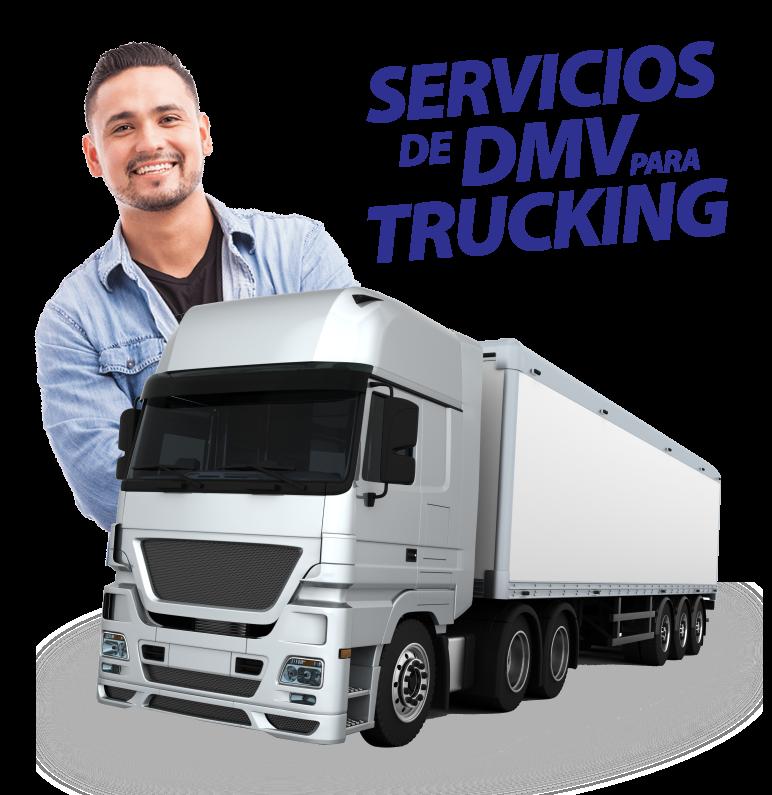 Placas de Trucking - Servicios de DMV Comercial - Servicios de DMV de Trucking