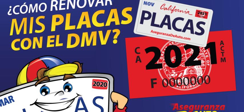 como renovar placas con el dmv pagar el sticker dmv