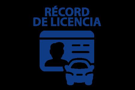 Récord de Licencia
