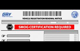 registration renewal without smog
